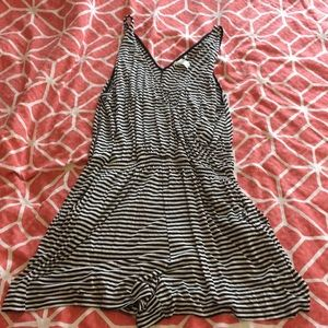 H&M Striped Romper